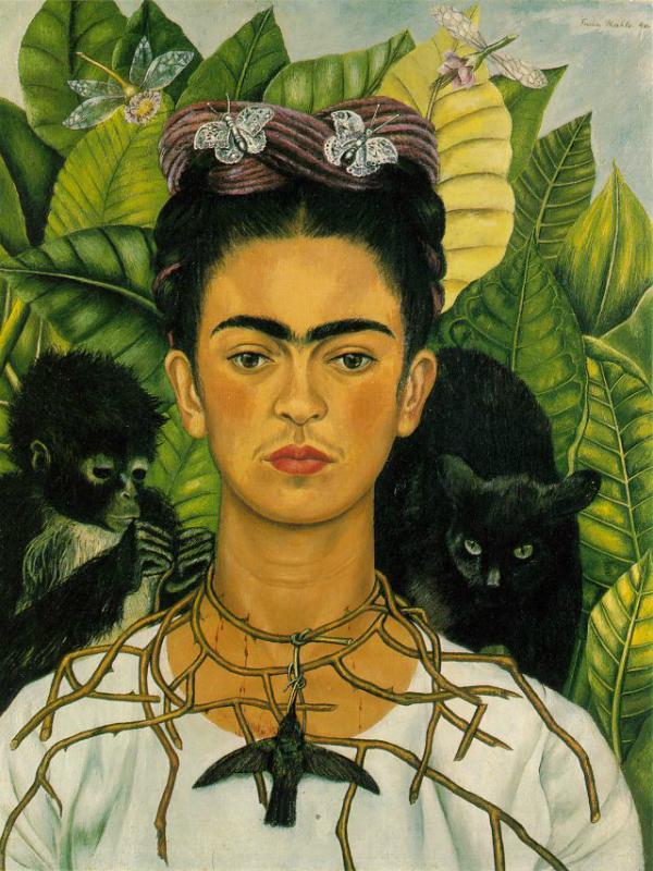 Frida Kahlo die farbenfrohe Ikone aus Mexiko Pflanzenfreude.de